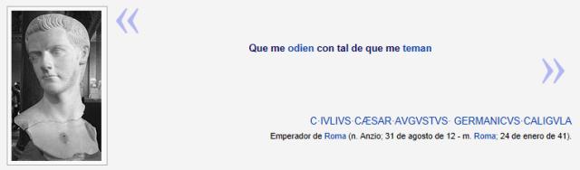 cita Calígula