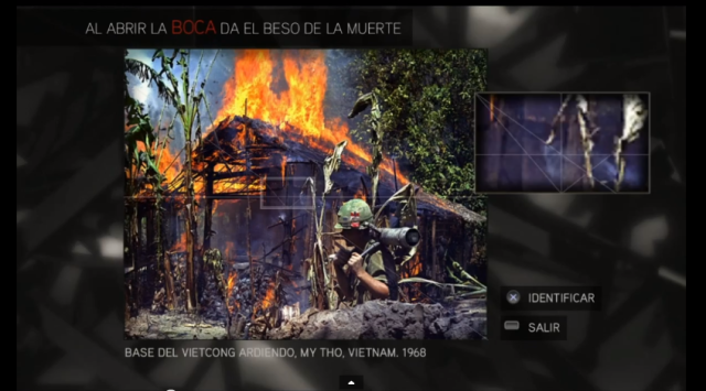 Assassin´s Creed II solución glifo 4 Base de Vietcong- My Tho- Vietnam 1968