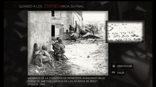 Assassin´s Creed II solución glifo 4 Brest Francia 1944