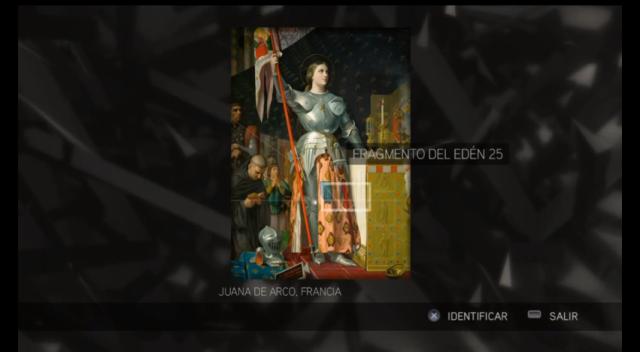 Assassin's Creed II - Glifo 08 - Mártires- Juana de Arco FdE