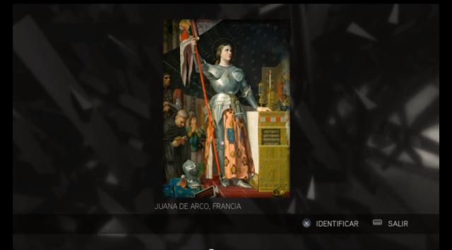 Assassin's Creed II - Glifo 08 - Mártires- Juana de Arco