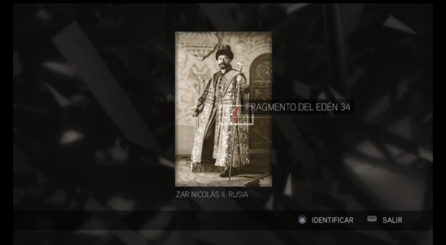 Assassin's Creed II - Glifo 08 - Mártires- Zar Nicolás II FdE