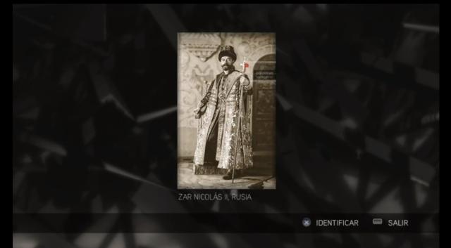 Assassin's Creed II - Glifo 08 - Mártires- Zar Nicolás II