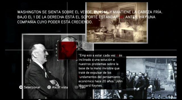 Assasssin's Creed Brotherhood- grupo 3 - John Maynard Keynes
