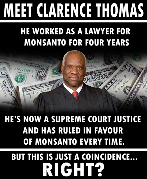 Clarence Thomas- Monsanto