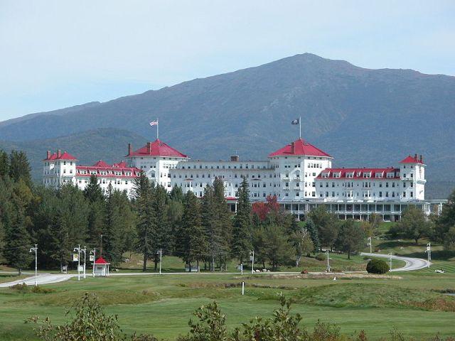 Hotel Mount Washington, en Bretton Woods, donde se realizó la histórica Conferencia de 1944.