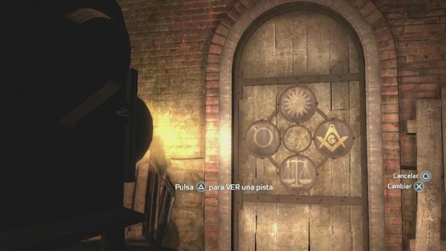 Assassin's Creed 3 subterráneos Nueva York masónico V
