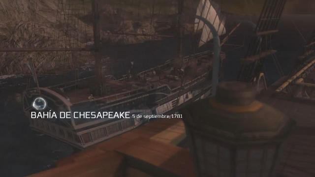 Assassin's Creed III - Walkthrough - Secuencia ADN 11 - La batalla de Chesapeake