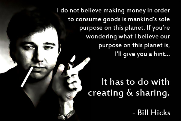 Bill hicks creating and sharing