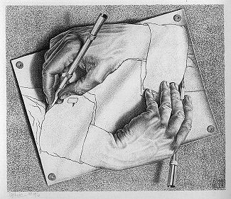DrawingHands- Escher