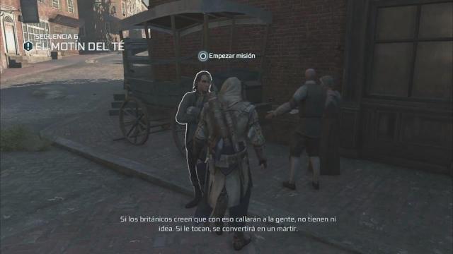 Assassin's Creed III - Walkthrough - Secuencia ADN 6 - El motín del té
