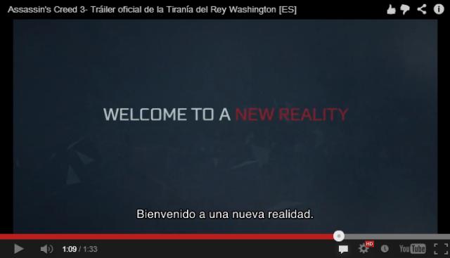 bienvenido a una nueva realidad