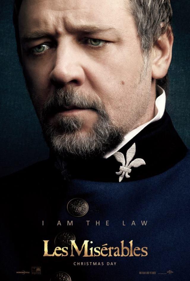 Javert Russell Crowe