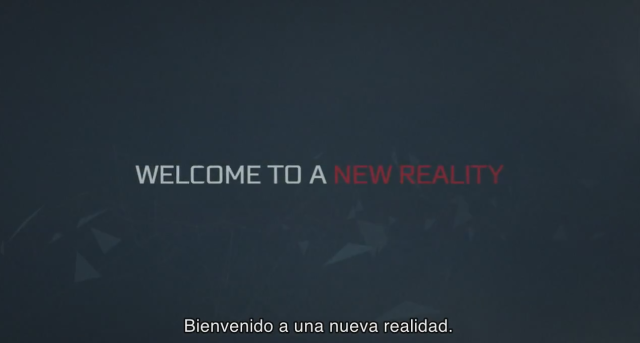 wellcome to a new reality