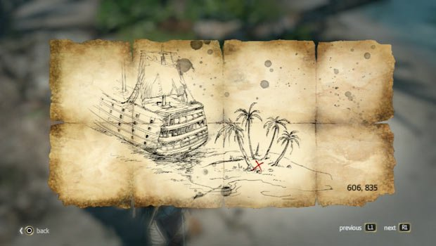 Andreas island map