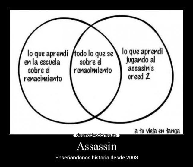 Assassin´s Creed aprender historia
