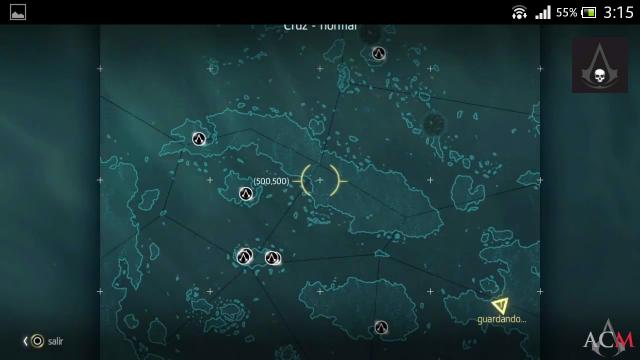 Assassin´s Creed IV Caza Templaria Localizaciones