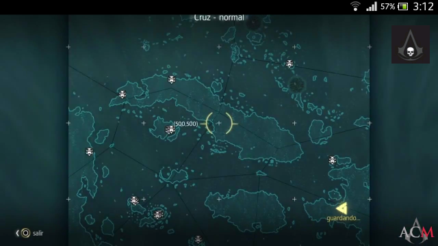 Assassin´s Creed IV - Estelas Mayas- Localizaciones