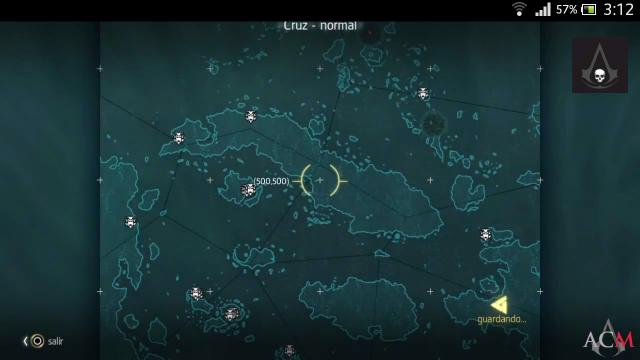 Assassin´s Creed IV - Estelas Mayas- Localizaciones