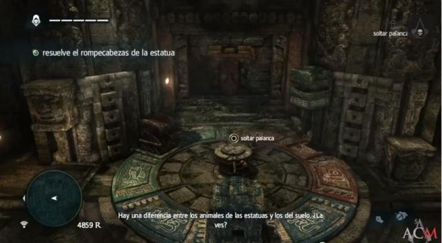 Assassin´s Creed IV juego de bloques- El secreto enterrado del sabio 3