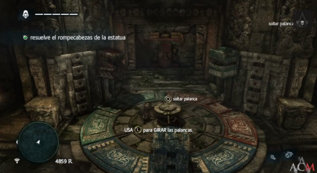 Assassin´s Creed IV juego de bloques- El secreto enterrado del sabio 4