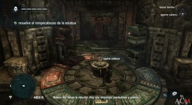 Assassin´s Creed IV juego de bloques- El secreto enterrado del sabio 5