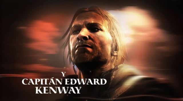 Capitán Edward Kenway