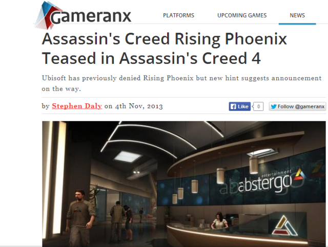 Gameranx Rising Phoenix nov13
