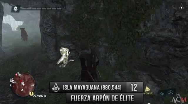 Isla Mayaguana mapa Fuerza arpón de élite