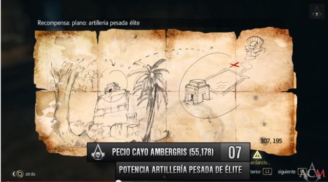 Mapa Ambergris plano Potencia Artillería pesada de élite