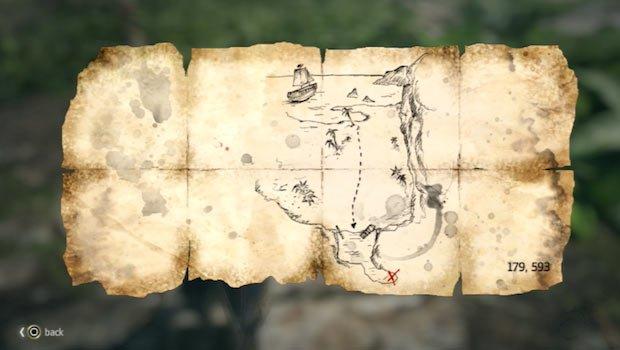 mapa en Cabo Buenavista