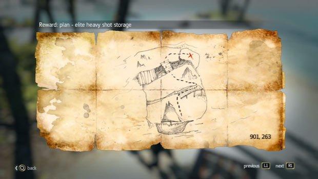 mapa en Estrecho de las Caimán