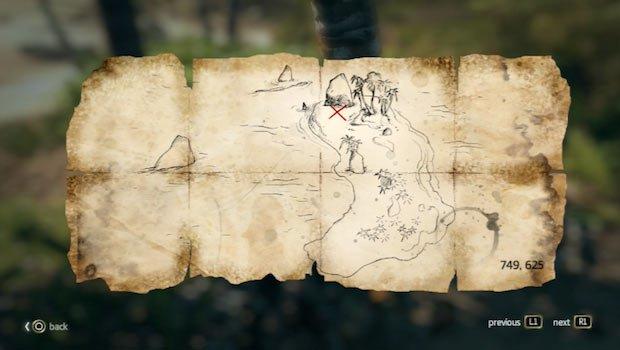 mapa en Isla de Ábaco