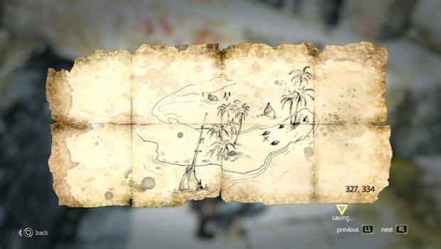 mapa en Isla de Pinos