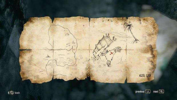 mapa en Misteriosa