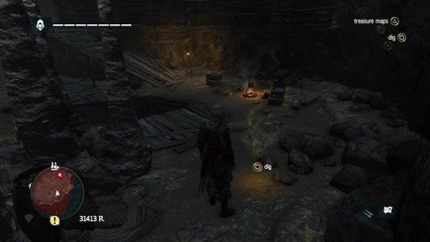 tesoro en Petite Caverne