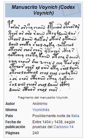 Voynich descripción