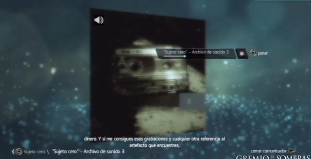 S0A3 referencias al artefacto